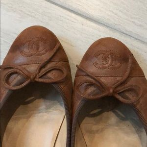 Authentic Chanel Quilted Flats. Size 35.5